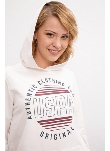U.S. Polo Assn. Sweatshirt Beyaz